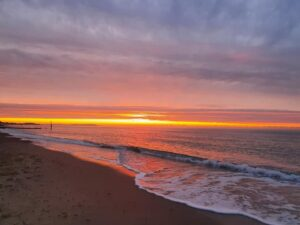 southbourne beach sunrise